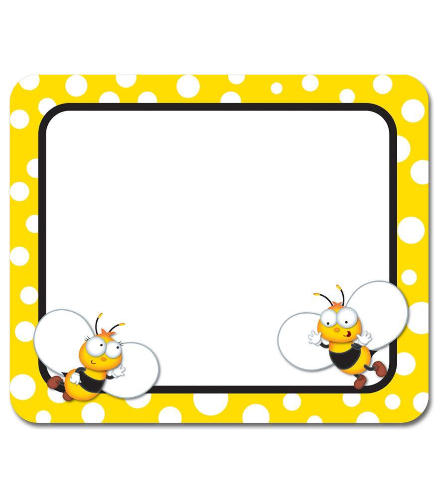 Buzz Worthy Bees Name Tags Promoni S
